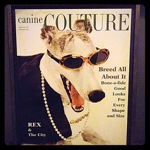 Canine Couture Art Frame